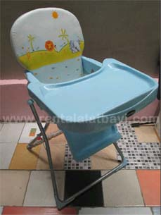 Pliko High Chair biru