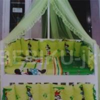 box bayi kayu green mickey