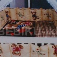 Box kayu Brown Bear