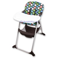 HIGH CHAIR COCOLATTE POLKADOT