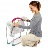 Bright Starts Baby Swing Portable