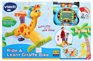 Vtech Bounce and Ride Giraffe Bike