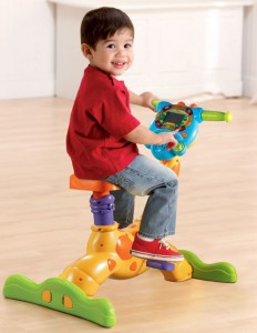 Vtech Giraffe Riide and Learn