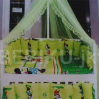 box bayi kayu green mickey