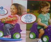 Little Tikes Swing and Ride