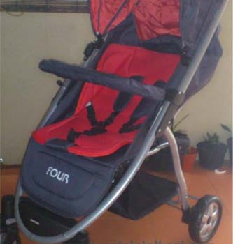Stroller Baby Does Four