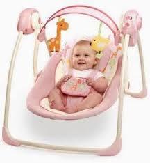 Bright Starts Baby Swing Comfort and Harmony