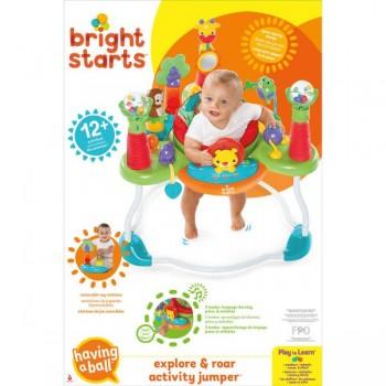 Bright Starts Explore and Roar Activity Jumper