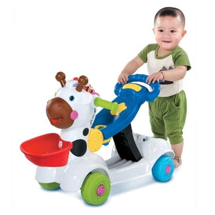IQ Baby 3in1 Learning Zebra Scooter