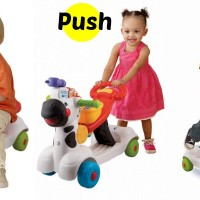 IQ Baby Learning Zebra Scooter